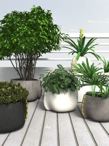 Outdoor Setting Plant Pot Collection - Commercial Spaces