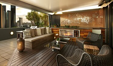 Private Balcony - Residential Spaces