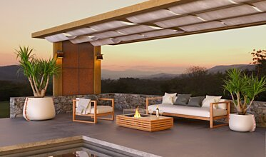 Outdoor entertaining area - Residential Spaces