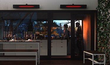 Indoor Kitchen - Infrared Radiant Heater Ideas