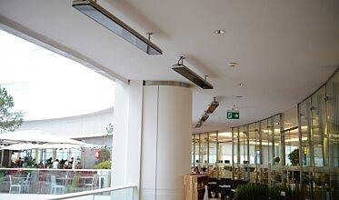 Vision Akasya Foodcourt - Infrared Radiant Heater Ideas