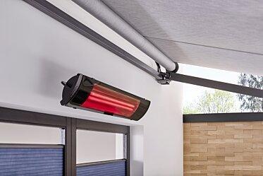 Modern Garden Design - Infrared Radiant Heater Ideas