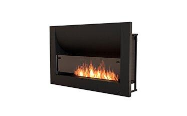 Firebox 1100CV Curved Fireplace - Studio Image by EcoSmart Fire
