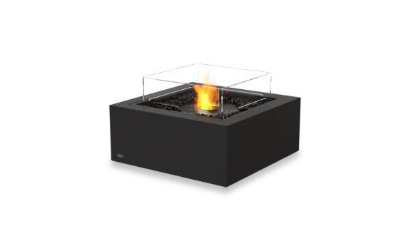 Base 30 Fire Pit - Ethanol - Black / Graphite / Optional Fire Screen by EcoSmart Fire