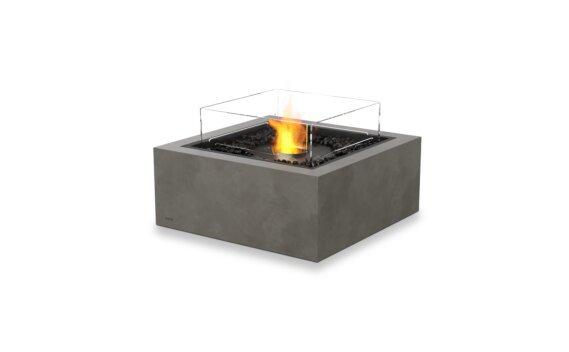Base 30 Fire Pit - Ethanol - Black / Natural / Optional Fire Screen by EcoSmart Fire