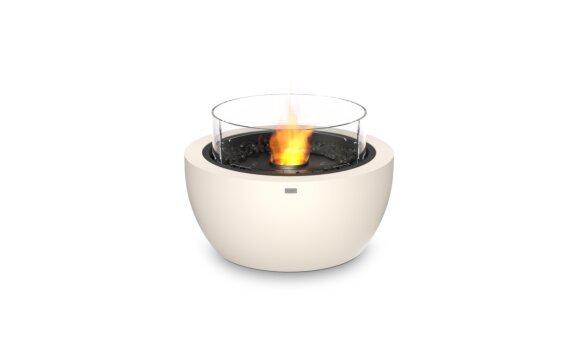 Pod 30 Fire Pit - Ethanol - Black / Bone / Optional Fire Screen by EcoSmart Fire