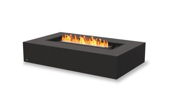 Wharf 65 Fire Pit - Ethanol - Black / Graphite by EcoSmart Fire