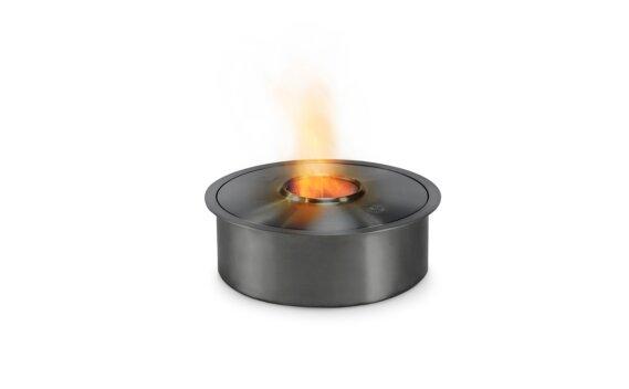 AB3 Ethanol Burner - Ethanol / Black / Top Tray Included by EcoSmart Fire