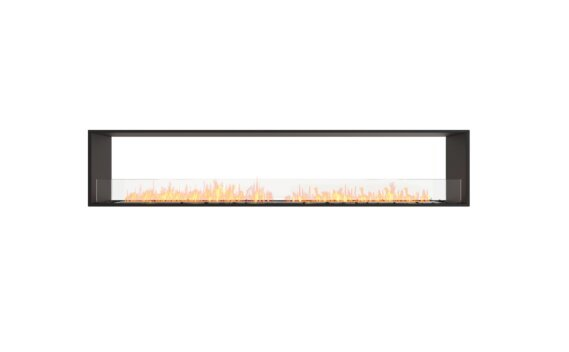 Flex 104DB Double Sided - Ethanol / Black / Installed View by EcoSmart Fire