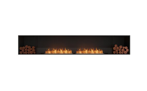 Flex 122SS.BX2 Single Sided - Ethanol / Black / Installed View by EcoSmart Fire