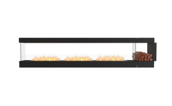 Flex 140PN.BXR Peninsula - Ethanol / Black / Uninstalled View by EcoSmart Fire