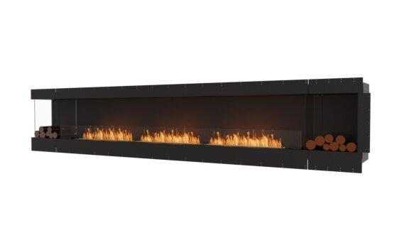 Flex 158LC.BX2 Left Corner - Ethanol / Black / Uninstalled View by EcoSmart Fire
