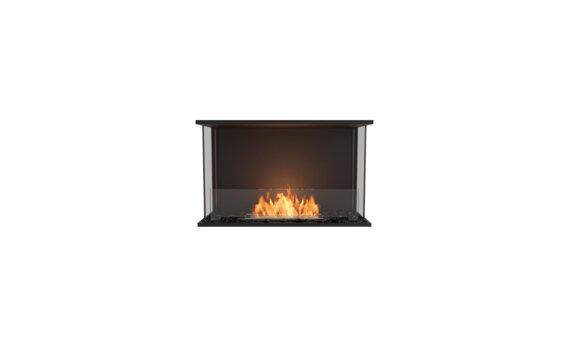 Flex 32 - Ethanol / Black / Installed View by EcoSmart Fire