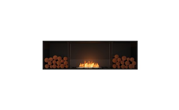 Flex 68SS.BX2 Single Sided - Ethanol / Black / Installed View by EcoSmart Fire