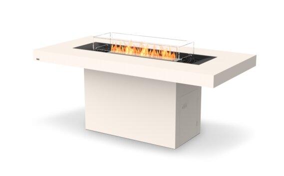 Gin 90 (Bar) Fire Pit - Ethanol / Bone / Optional Fire Screen by EcoSmart Fire