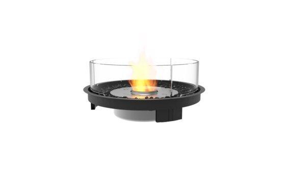 Round 20 Fireplace Insert - Ethanol / Black by EcoSmart Fire
