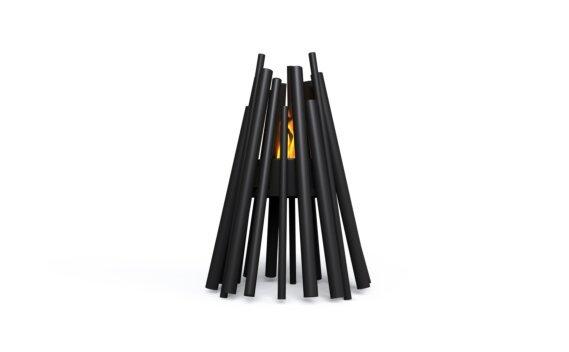 Stix 8 Fire Pit - Ethanol / Black by EcoSmart Fire