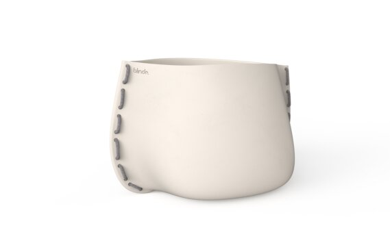 Stitch 100 Planter - Bone / Grey by Blinde Design