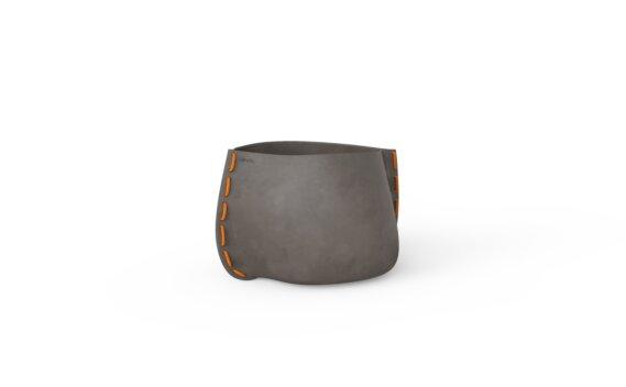 Stitch 25 Planter - Natural / Orange by Blinde Design