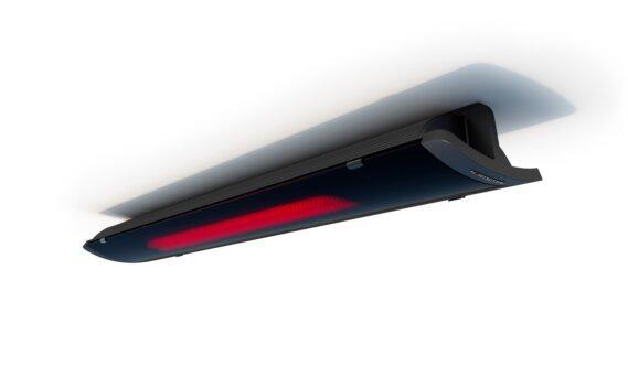 Pure 3000W Radiant Heater - Black / Black - Flame On by Heatscope