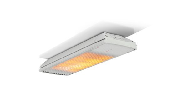 Spot 1600W Radiant Heater - White / White - Flame On by Heatscope Heaters