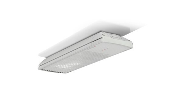 Spot 1600W Radiant Heater - White / White - Flame Off by Heatscope Heaters