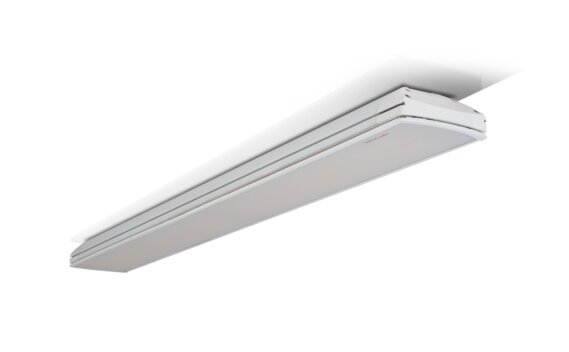 Vision 3200W Radiant Heater - White / White - Flame Off by Heatscope