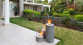 Lighthouse 600 Portable Fire Pit - In-Situ Image by EcoSmart Fire