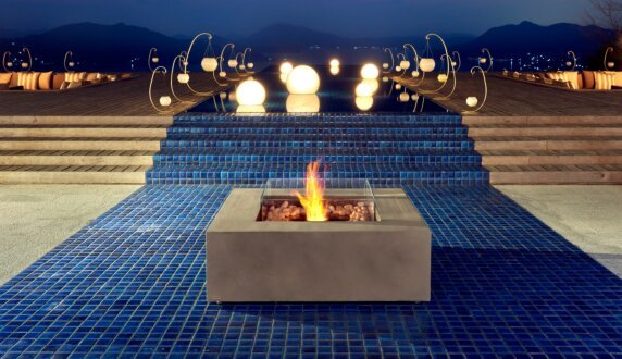 Commercial Space - Base 30 Fire Pit Table by EcoSmart Fire