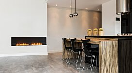 Flex 86RC Fireplace Insert - In-Situ Image by EcoSmart Fire
