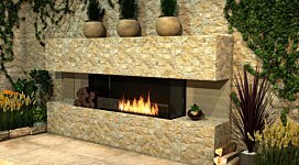Flex 140BY.BXL Fireplace Insert - In-Situ Image by EcoSmart Fire