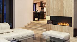 Flex 68LC.BXL Fireplace Insert - In-Situ Image by EcoSmart Fire