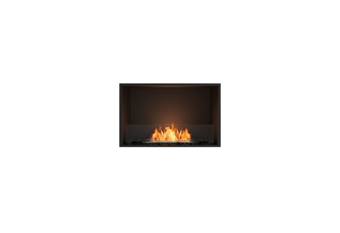 Flex 32SS Single Sided - Ethanol / Black / Installed View by EcoSmart Fire