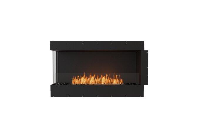 Flex 50LC Left Corner - Ethanol / Black / Uninstalled View by EcoSmart Fire