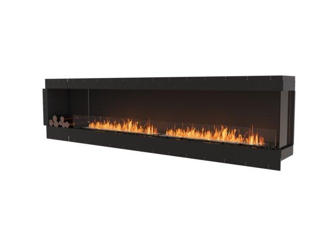 Flex 122RC.BXL Right Corner - Ethanol / Black / Uninstalled View by EcoSmart Fire