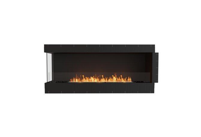 Flex 68LC Left Corner - Ethanol / Black / Uninstalled View by EcoSmart Fire