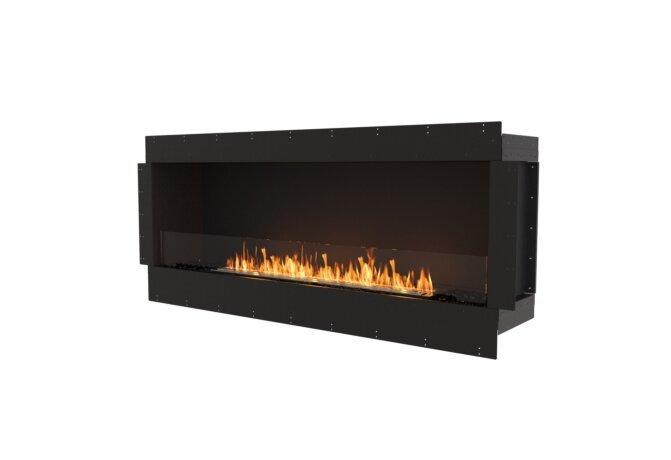 Flex 68SS Single Sided - Ethanol / Black / Uninstalled View by EcoSmart Fire
