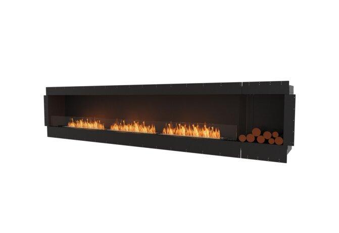 Flex 140SS.BXR Single Sided - Ethanol / Black / Uninstalled View by EcoSmart Fire