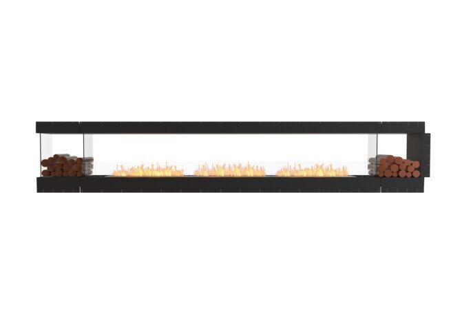 Flex 158PN.BX2 Peninsula - Ethanol / Black / Uninstalled View by EcoSmart Fire