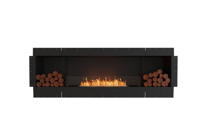 Flex 86SS.BX2 Single Sided - Ethanol / Black / Uninstalled View by EcoSmart Fire