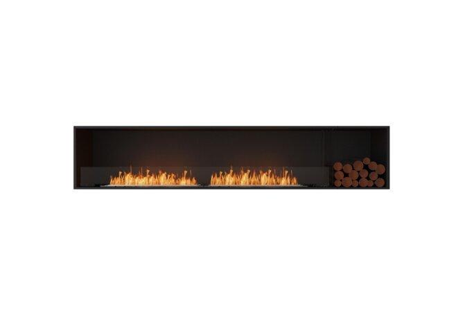 Flex 104SS.BXR Single Sided - Ethanol / Black / Installed View by EcoSmart Fire
