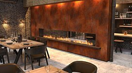 Flex 140DB.BX2 Fireplace Insert - In-Situ Image by EcoSmart Fire