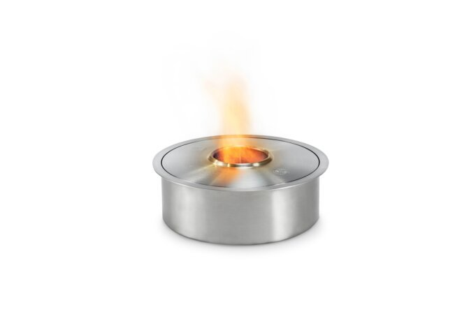 AB3 Ethanol Burner - Ethanol / Stainless Steel / Top Tray Included by EcoSmart Fire