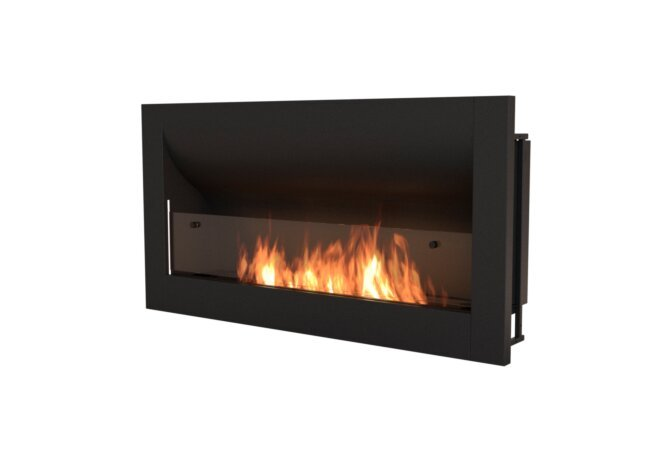 Firebox 1400CV Curved Serie - Ethanol / Black by EcoSmart Fire