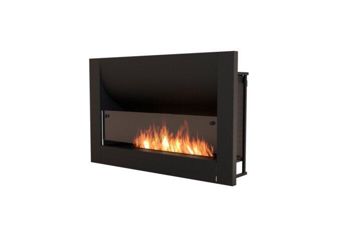Firebox 1100CV Curved Serie - Ethanol / Black by EcoSmart Fire