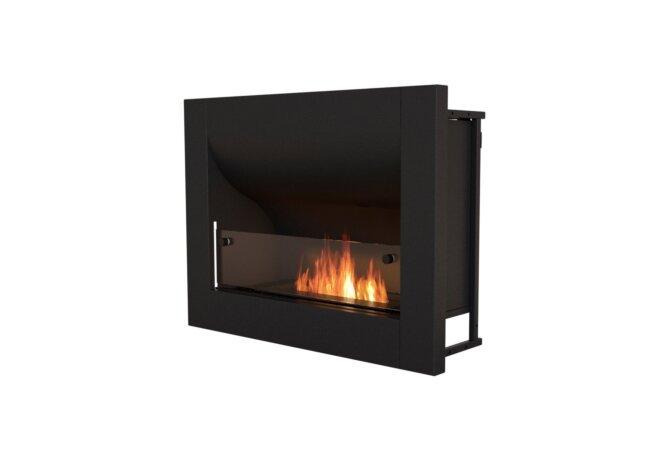 Firebox 720CV Curved Serie - Ethanol / Black by EcoSmart Fire