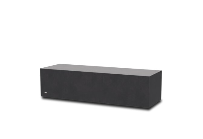 Bloc L2 Coffee Table - Graphite by Blinde Design