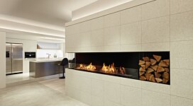 Flex 104LC Fireplace Insert - In-Situ Image by EcoSmart Fire