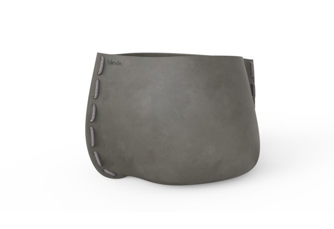 Stitch 125 Planter - Natural / Grey by Blinde Design