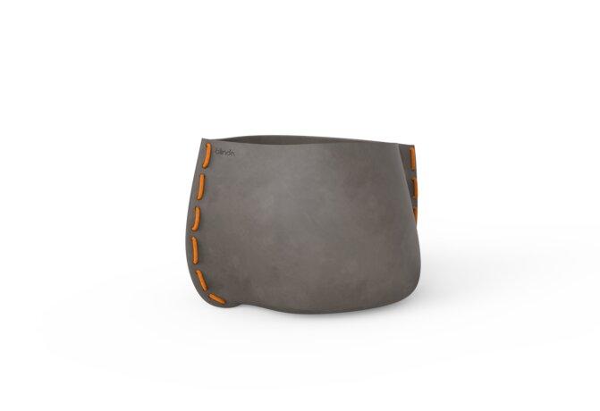 Stitch 50 Planter - Natural / Orange by Blinde Design